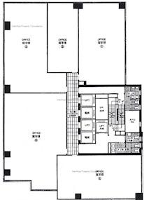 环贸中心 -标准平面图