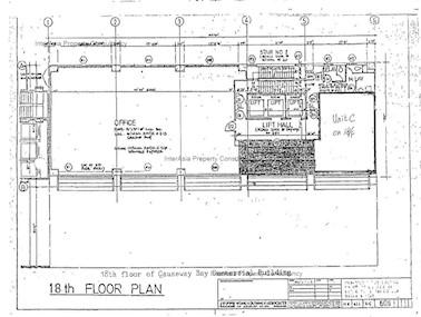 铜锣湾商业大厦 -标准平面图