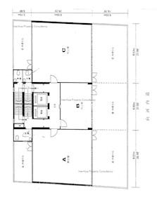 世纪商业大厦 -标准平面图