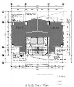 皇后大道中168号 -标准平面图