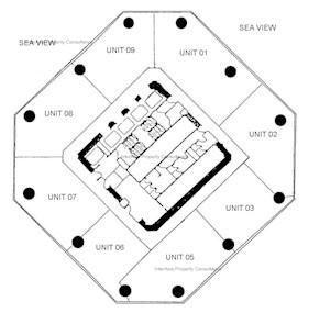 力宝中心 第1座-标准平面图