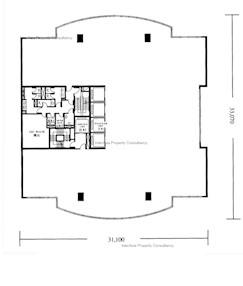 李宝椿大厦 -标准平面图