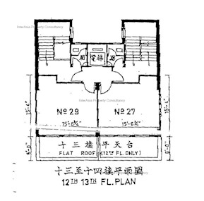 元益大厦 -标准平面图
