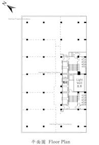 盈置大厦 -标准平面图
