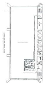 东亚银行大厦 -标准平面图