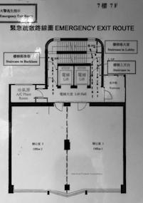 华东商业大厦 -标准平面图