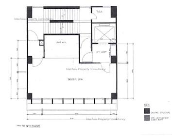 中财中心 -标准平面图