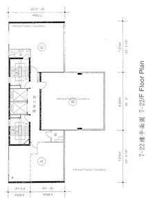 永亨保险大厦 -标准平面图