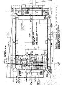 恒成大厦 -标准平面图