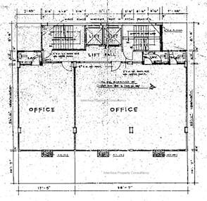 通济大厦 -标准平面图