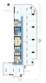 丝宝国际大厦 -标准平面图
