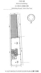 天星大楼 -标准平面图