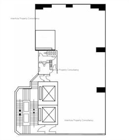 利东大厦 -标准平面图
