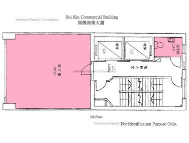 开侨商业大厦 -标准平面图