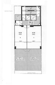 六合商业大厦 -标准平面图
