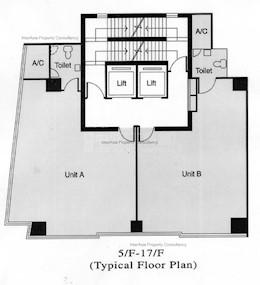 漆咸道南一号 -标准平面图
