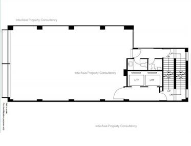 丰和大厦 -标准平面图