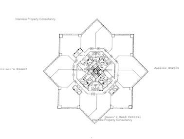 中环中心 -标准平面图