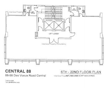 中环88 -标准平面图