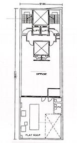 信裕大厦 -标准平面图