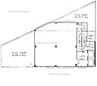 德士古大厦 -标准平面图