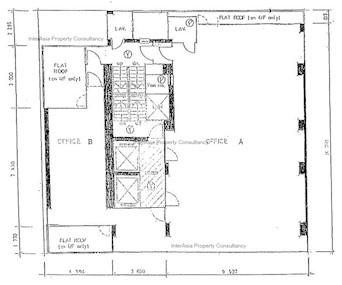 俊和商业中心 -标准平面图