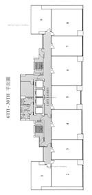华懋交易广场2期 -标准平面图