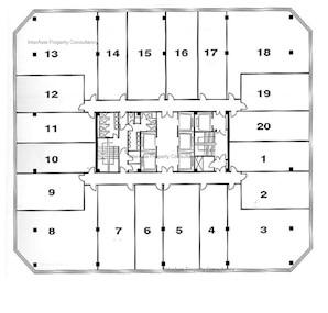 新文华中心 A座-标准平面图