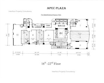 创贸广场 -标准平面图