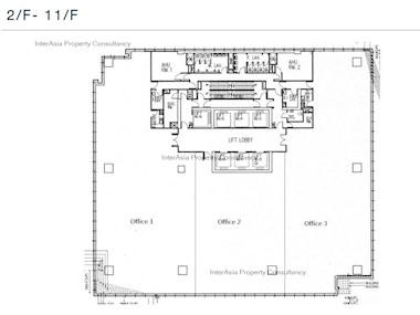 祥祺中心 -标准平面图