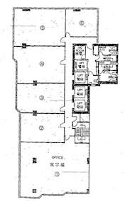 建业荣基中心 -标准平面图