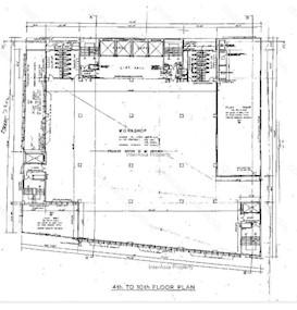 天安工业大厦 -标准平面图