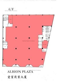爱宾商业大厦 -标准平面图