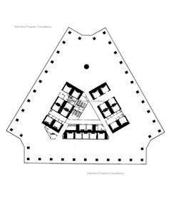 中环广场 -标准平面图