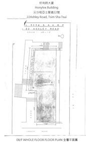 好利时大厦 -标准平面图