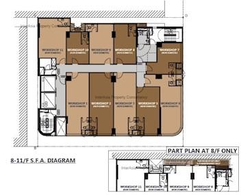 骏业街46号 -标准平面图
