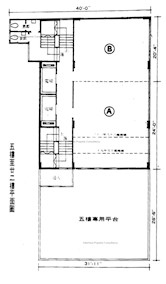 万安大厦 -标准平面图