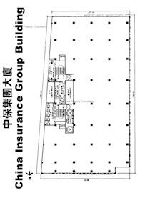 中保集团大厦 -标准平面图