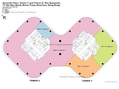 海滨汇 1座-标准平面图