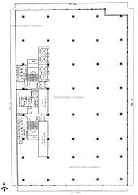永安集团大厦 -标准平面图