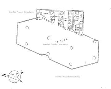 无限极广场 -标准平面图