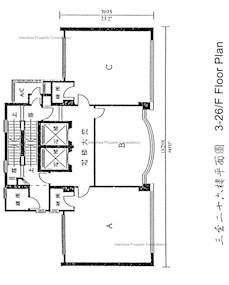 京华中心2期 -标准平面图