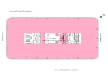 International Trade Tower (ITT) -标准平面图
