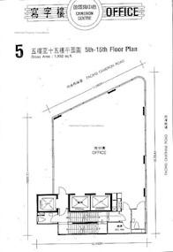 金马伦中心 -标准平面图