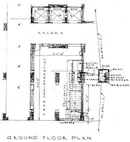 海防大厦 -标准平面图