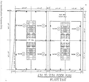 合兴工业大厦 -标准平面图
