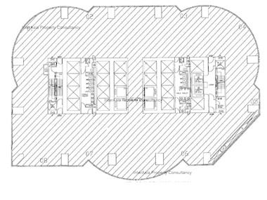 交易广场1座 -标准平面图
