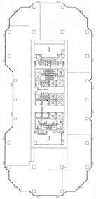 德宏大厦 -标准平面图