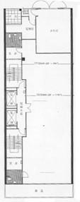 北港商业大厦 -标准平面图